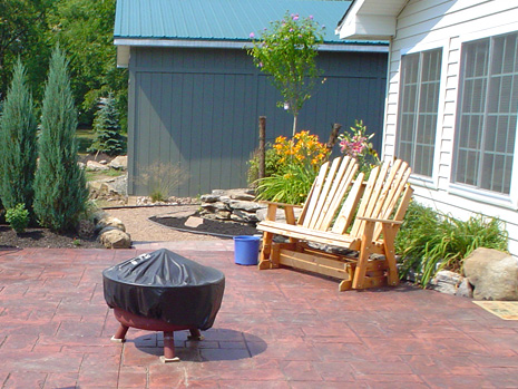 lockport stone patio contractor